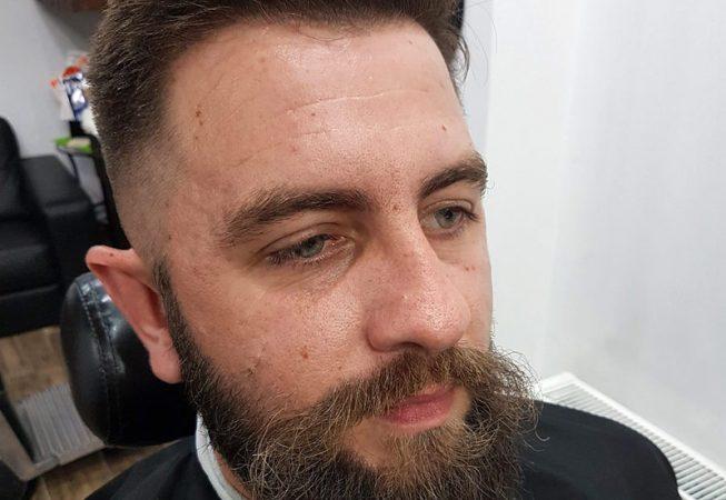 Barber Shop Bydgoszcz - przed strzyżeniem brody