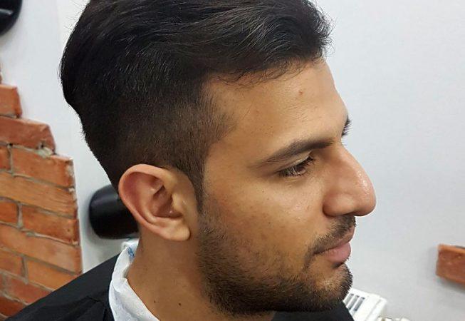 Barber Shop Bydgoszcz - po strzyżeniu włosów