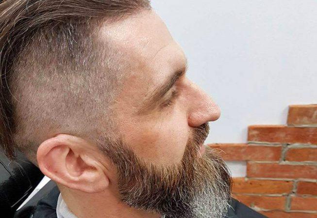 Barber Shop Bydgoszcz - po strzyżeniu brody