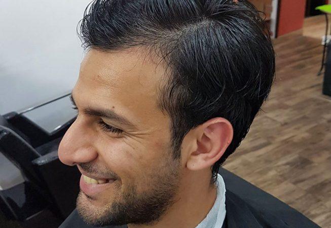 Barber Shop Bydgoszcz - przed strzyżeniem włosów